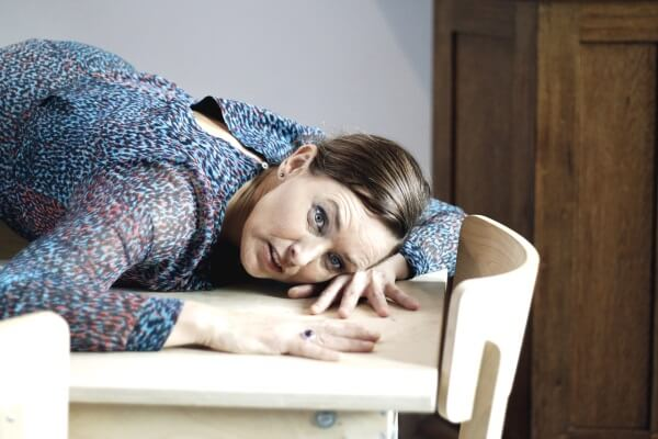 Met Audrey Bolder aan tafel bij Gerrit Rietveld