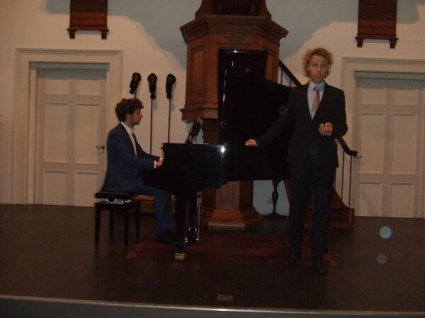 'Diamanten in de sneeuw' – Romantisch liedrecital door bariton Raoul Steffaniop 15 oktober