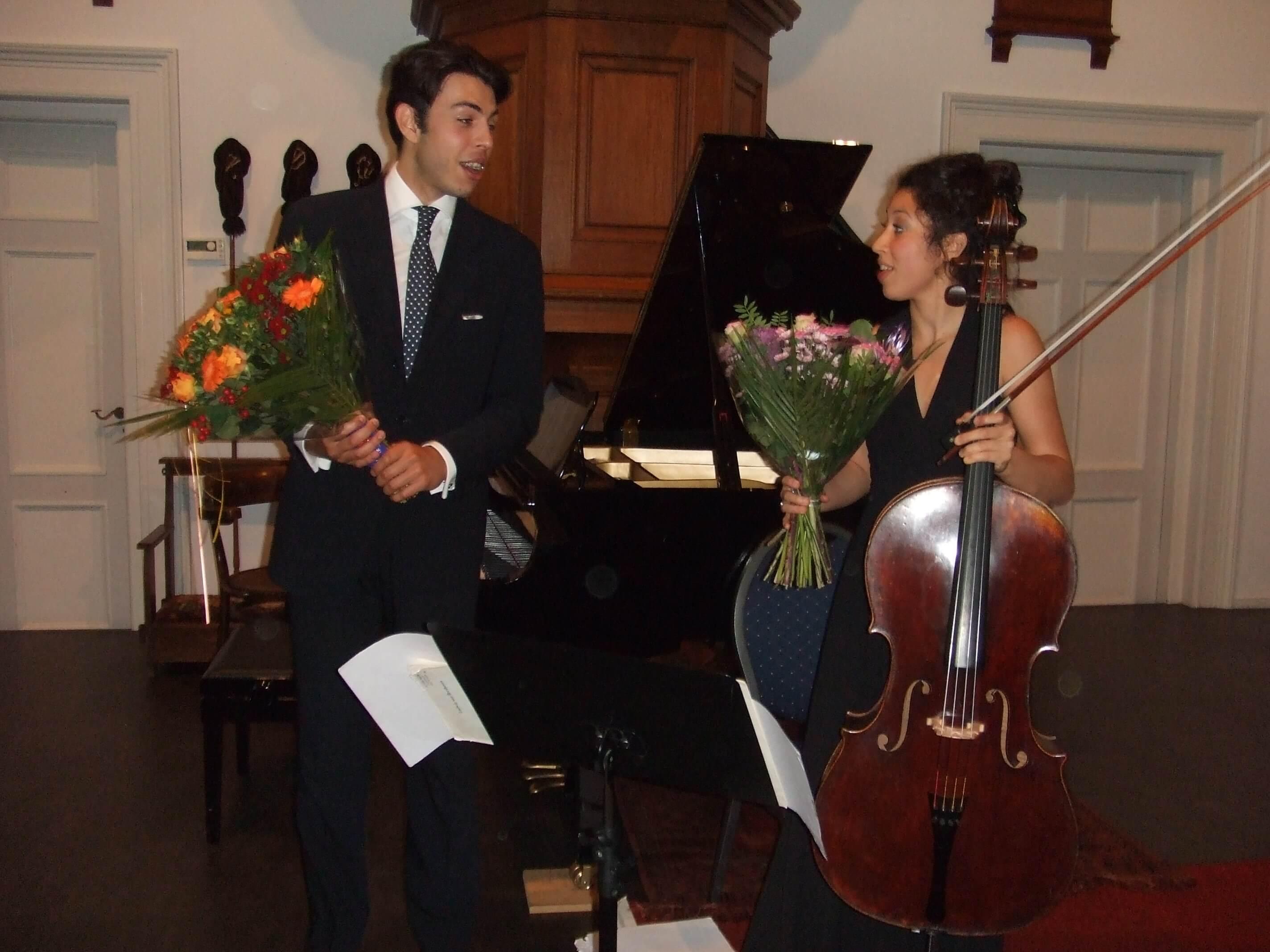 Ella en Nicolas van Poucke schitteren op het SCAU-podium