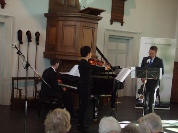 Trio Parnasse boeit met veelzijdig programma