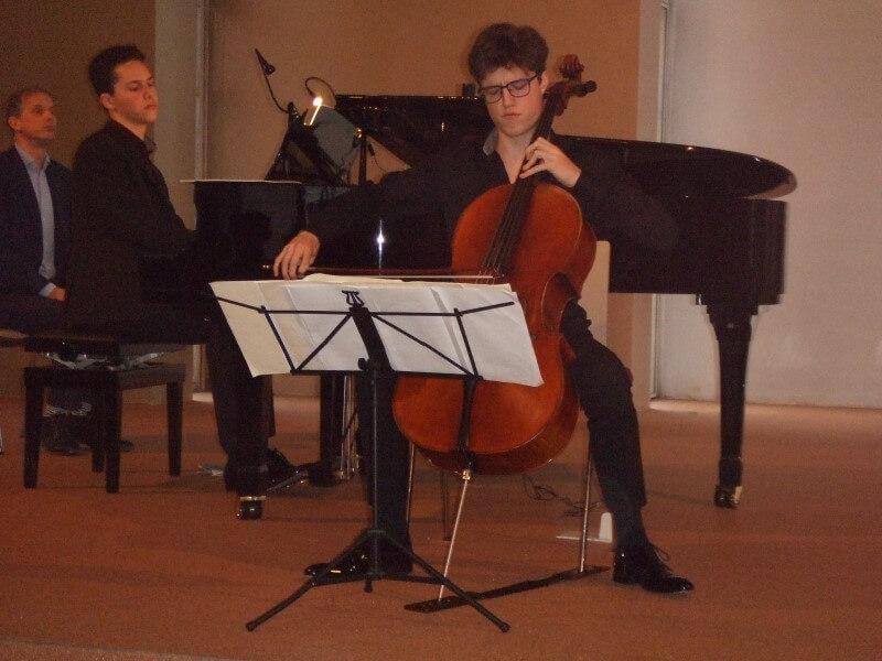 Briljante jonge musici in stormachtig SCAU-concert