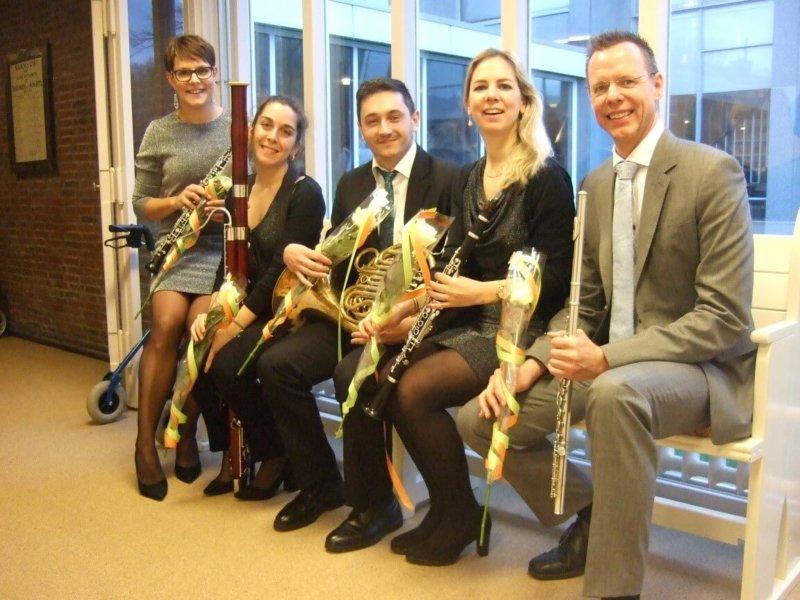 'Bohemen – een muzikale reis langs de Moldau' Nieuwjaarsconcert door het Amsterdam Wind Quintet