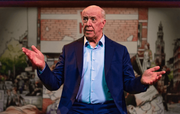 'Fluiten in het donker' – Helmert Woudenberg met verhalen van Simon Carmiggelt